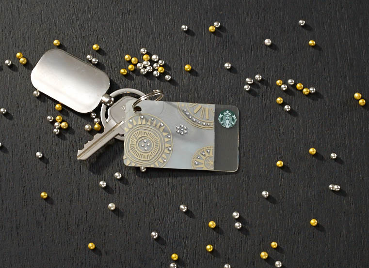 Starbucks Swarovski Crystals Card