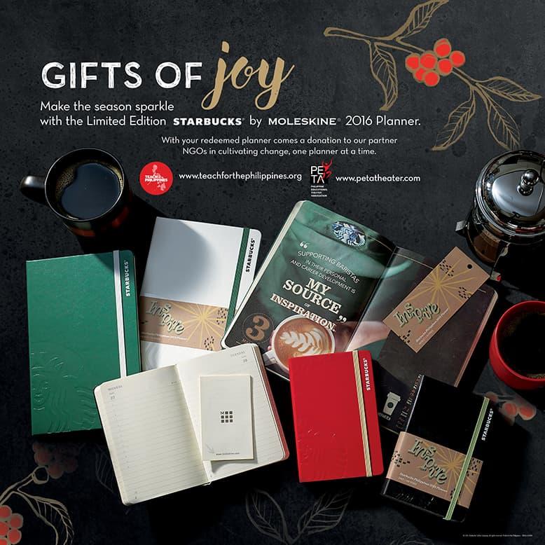 Starbucks x Moleskine Planner - Ad Material
