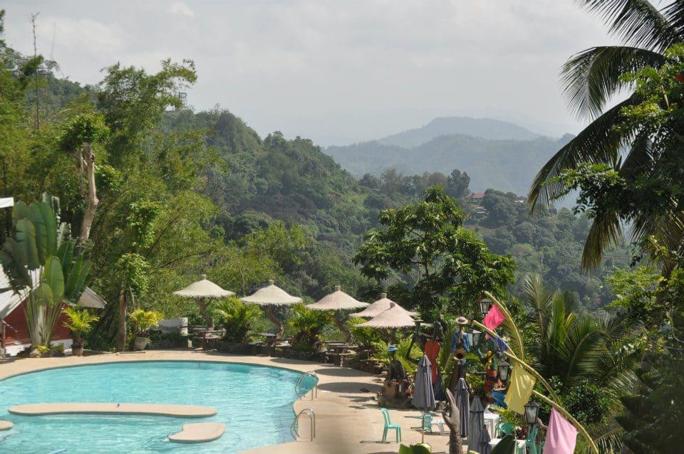 mountain view swimming pool