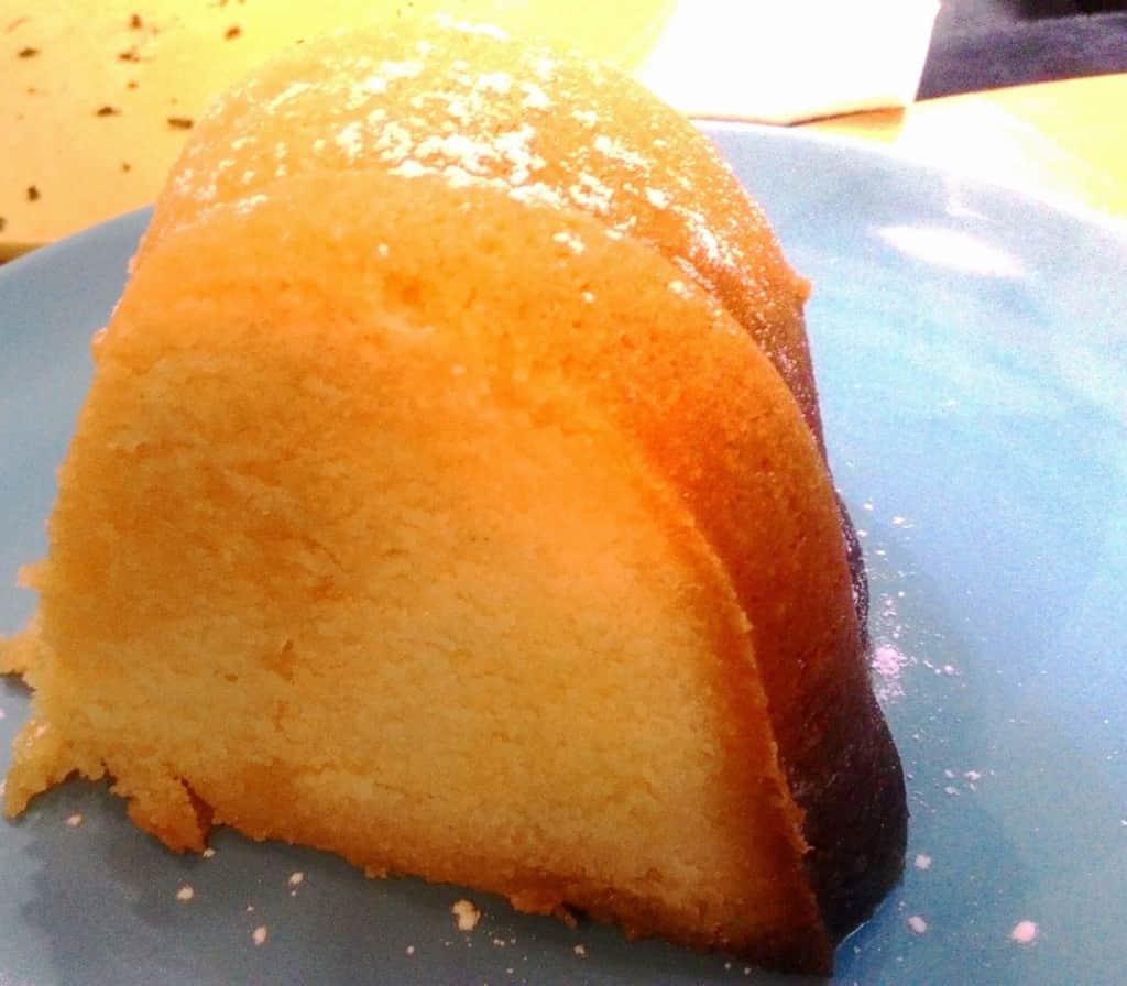 Fudge Rhum Cake