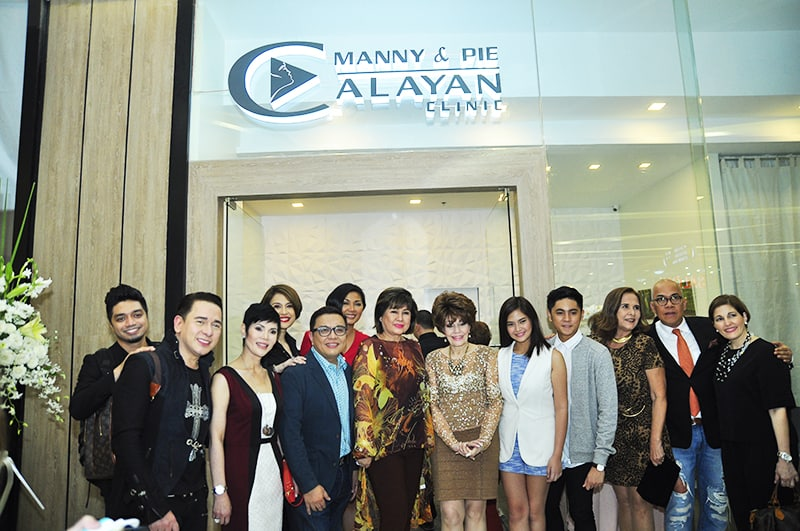 Manny and Pie Calayan clinic in Cebu