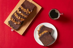 Chocolate Toffee Nut Loaf