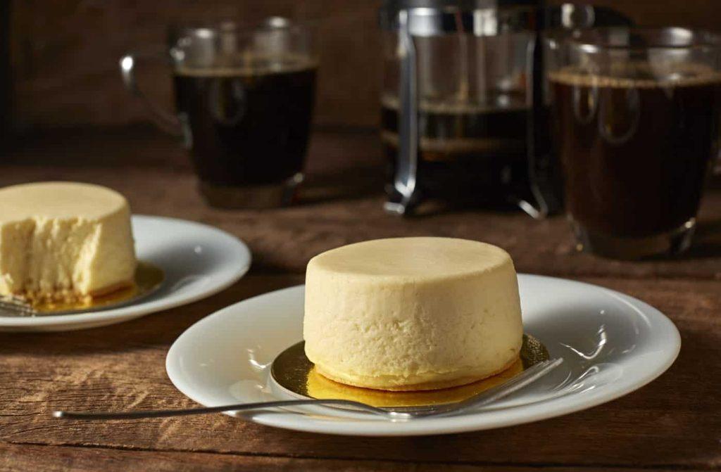 Camembert and Mascarpone Cheesecake