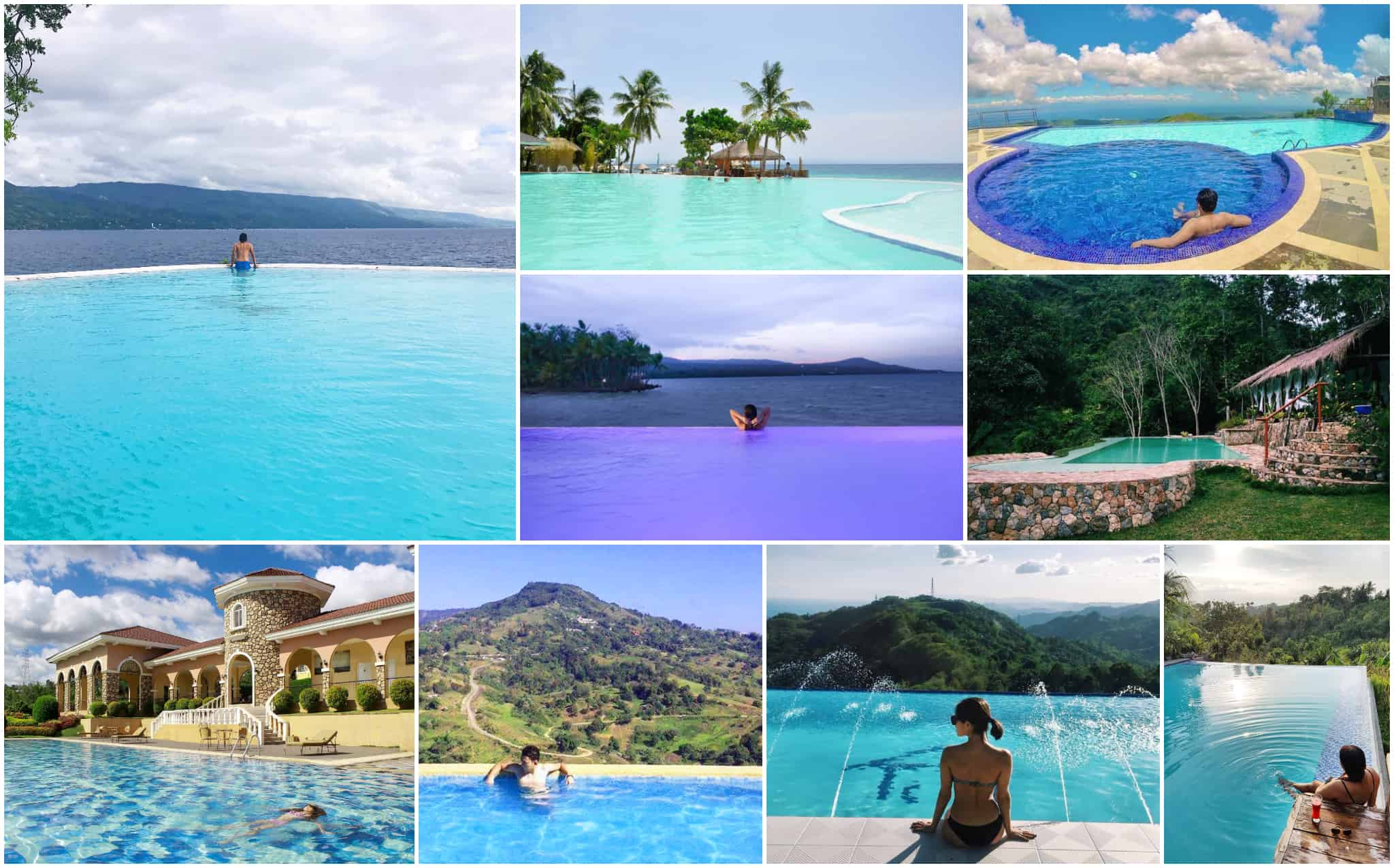 16 Best Infinity Pools In Cebu With Rates Directions