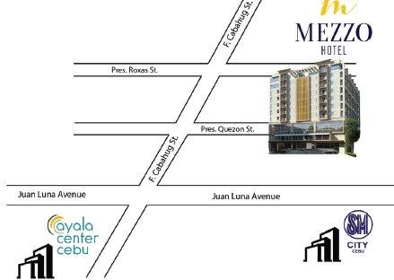 mezzo hotel map