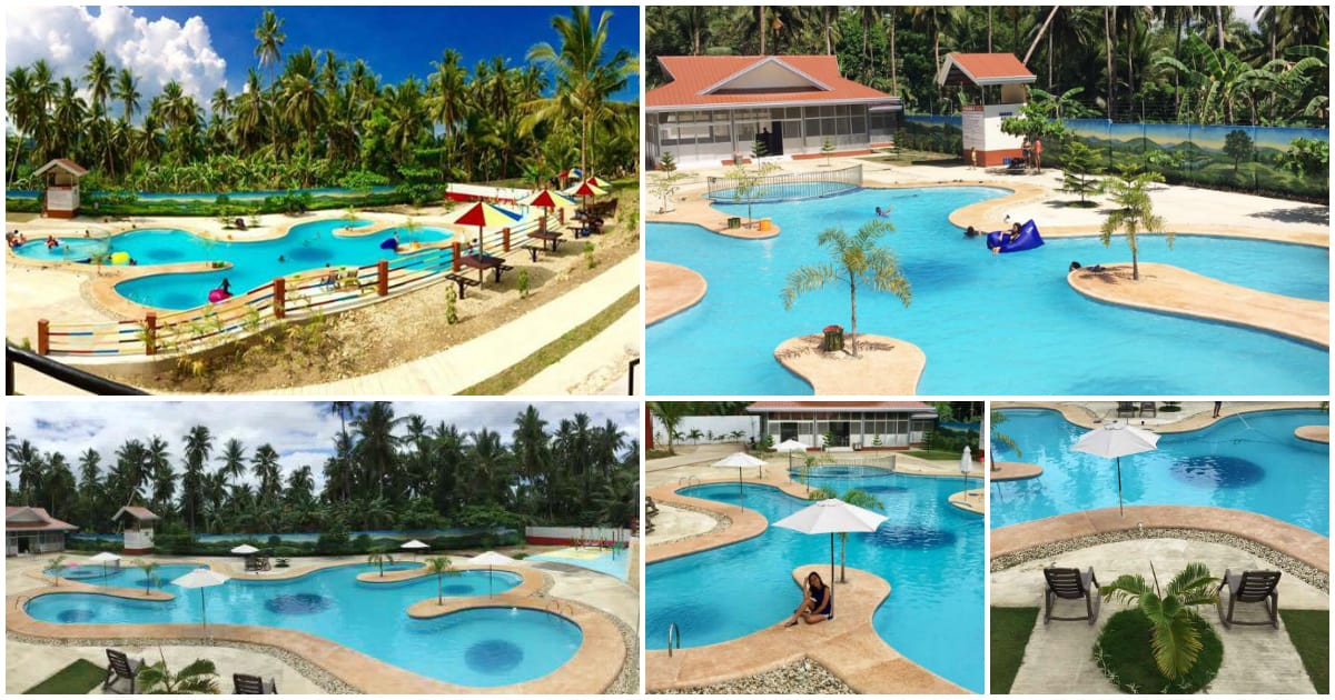 Varlina 39 s home resort with a spectacular pool in argao for Pool garden resort argao