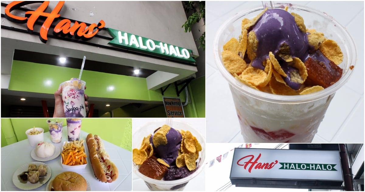 Make your own halo-halo at Hans'   Sugbo ph - Cebu
