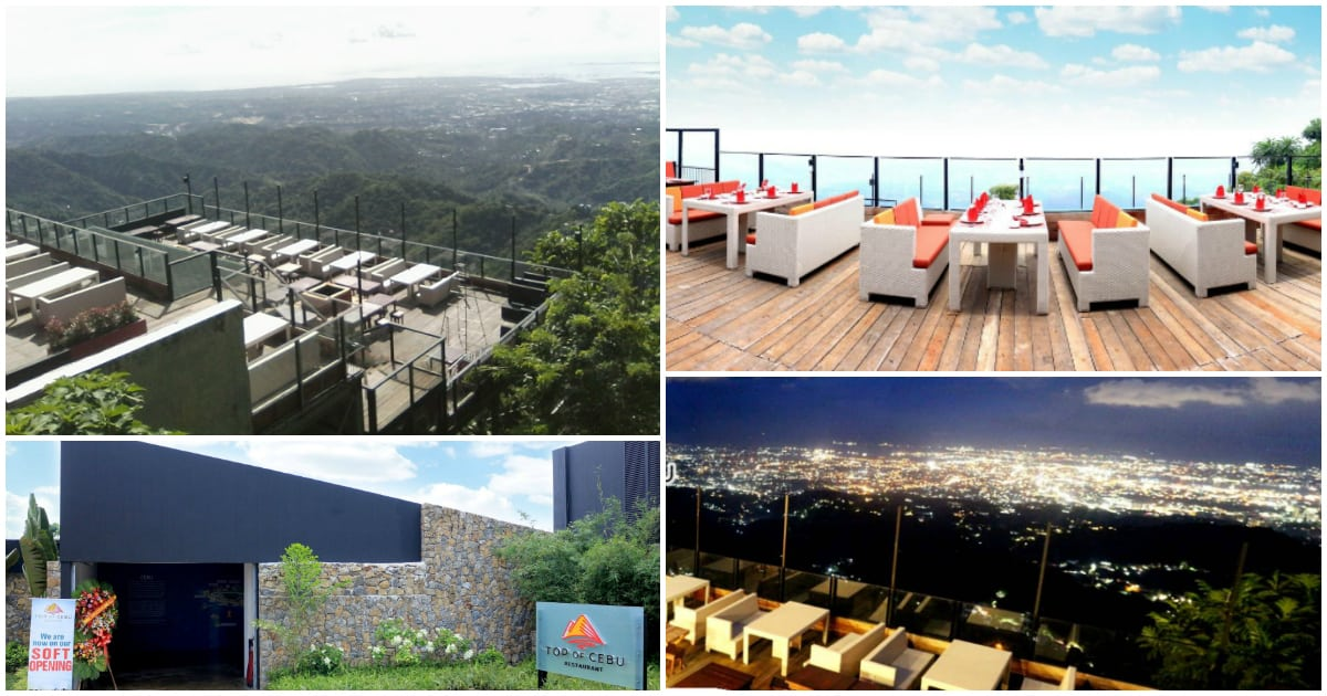 Top Of Cebu A Stunning Mountain Top Restaurant In Busay