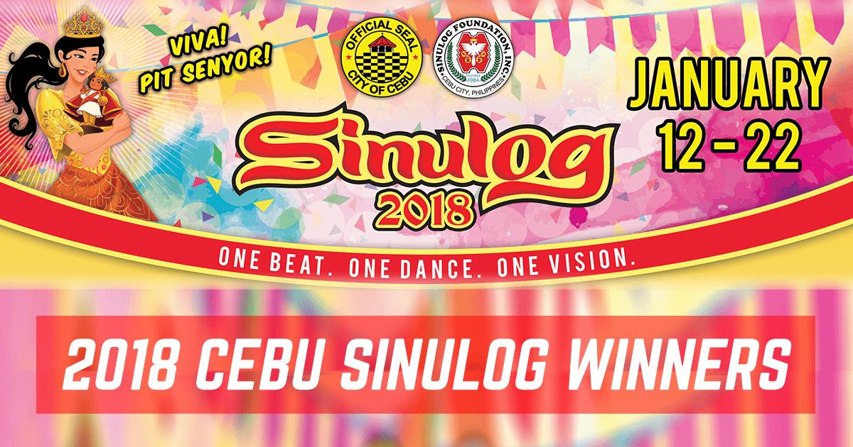 OFFICIAL Cebu Sinulog 2018 Winners: The Complete List ...