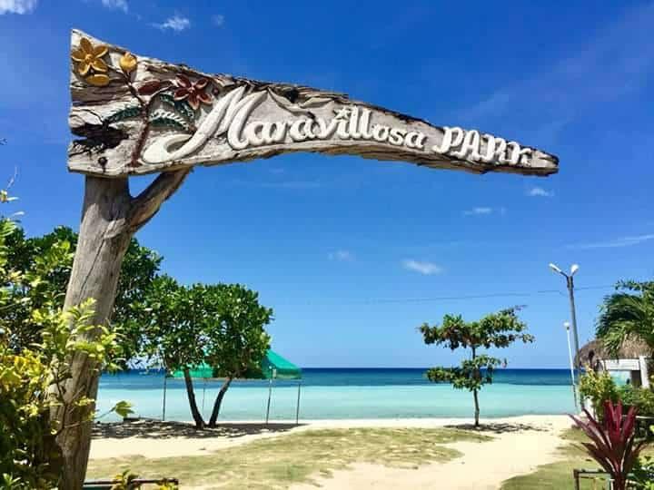 The Beautiful Maravilla White Beach In Tabuelan Sugbo Ph Cebu