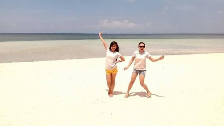 The Beautiful Maravilla White Beach In Tabuelan Sugbo Ph