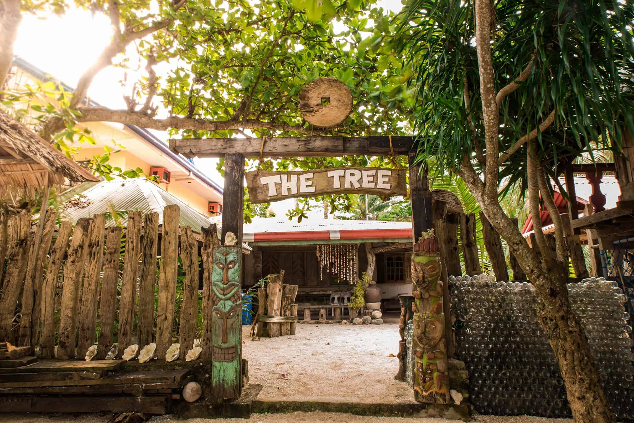 The Tree Sunset Super Affordable White Beach Resort In
