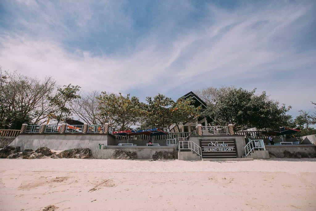 nicolas island resort caubian cebu