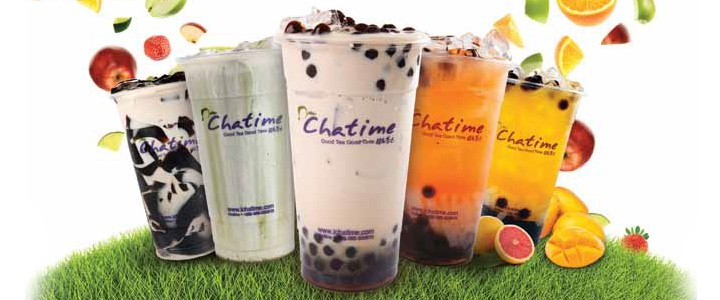 2 chatime milk tea 1