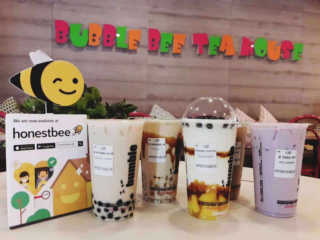 3 Bubble Bee Tea House milk tea cebu2