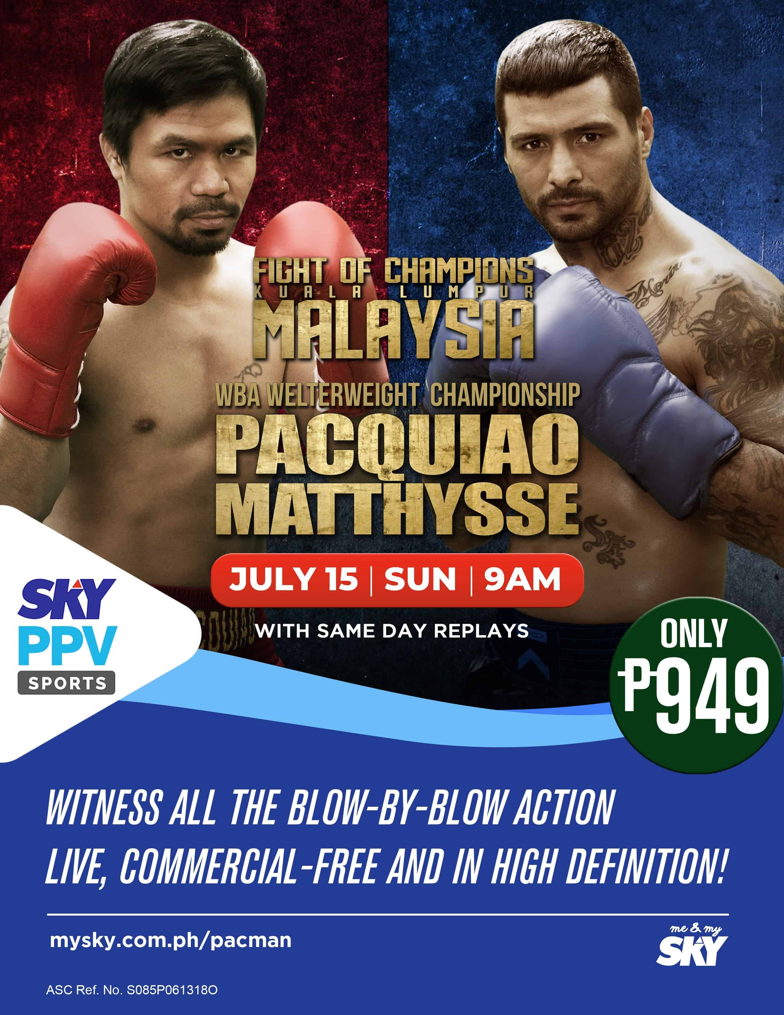 Pacman Matthysse Boxing Fight