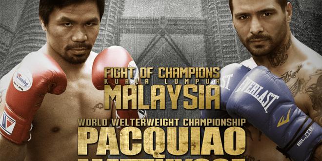Pacquiao vs Matthysse Early Bird Cebu