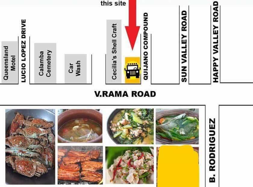 Driveway Laragan and Season Unli Cebu Maps