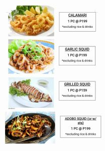Mr Crab Unlimited Crabs Cebu Menu 4