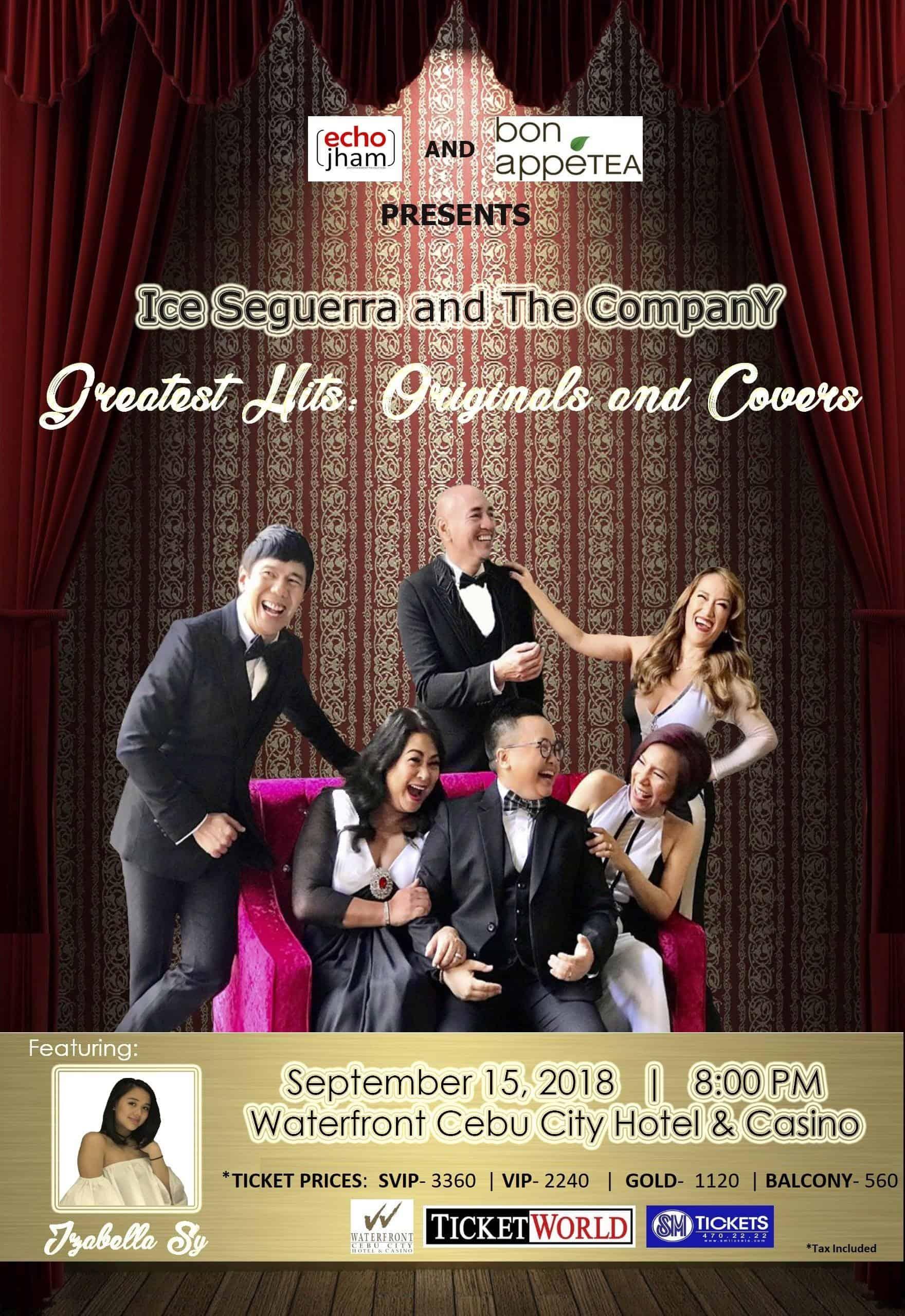 The Company Ice Seguerra Cebu Concert Poster