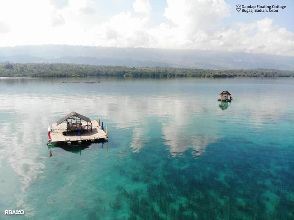 Dapdap's Floating Cottage Badian Cebu