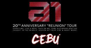 A1 Reunion Concert Tour Cebu
