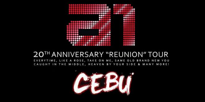 A1 Reunion Concert Tour Cebu