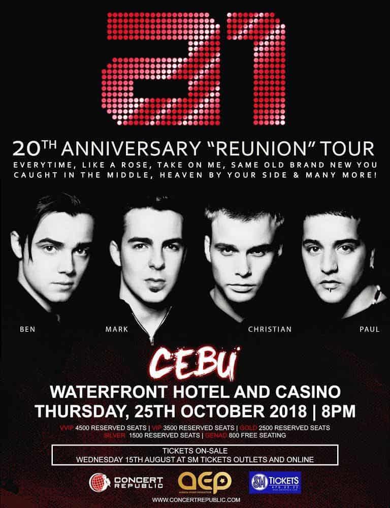 A1 Reunion Concert Tour Cebu Philippines (1)