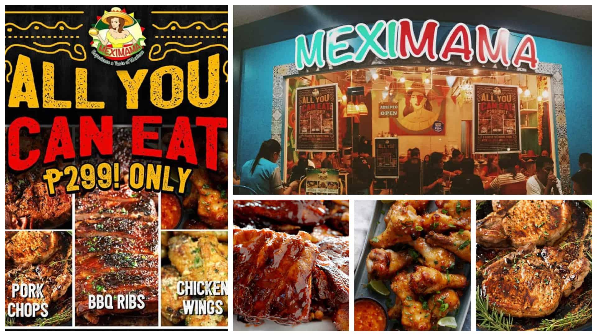 cebu eats unlimited ribs wings pork chops for u20b1299 at meximama rh sugbo ph