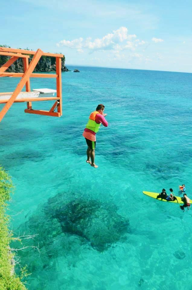 Funtastic Island Cliff Jumping
