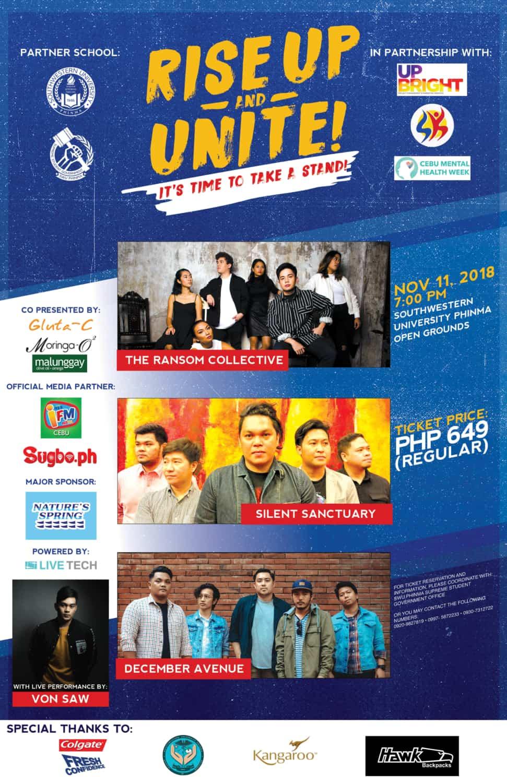 Rise Up and Unite Cebu Concert