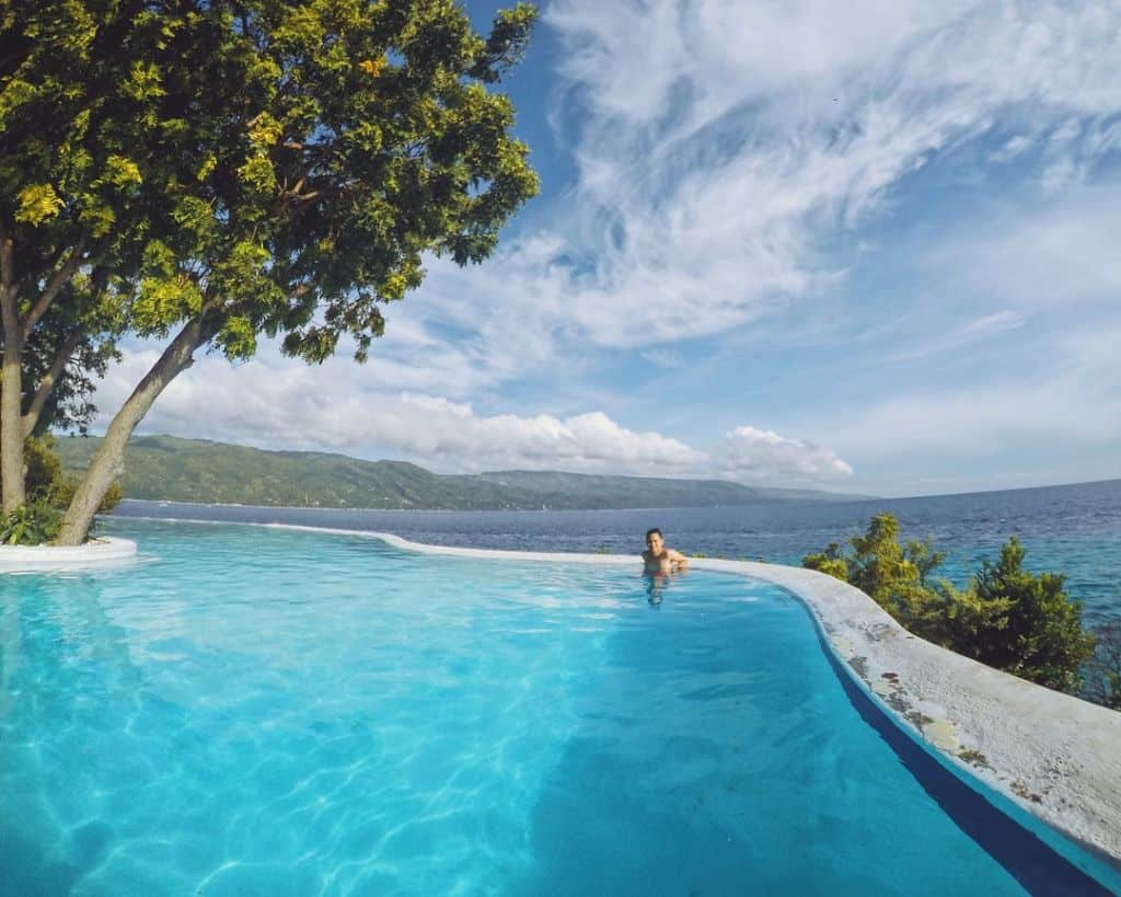 Sumilon Island Infinity Pool Cebu