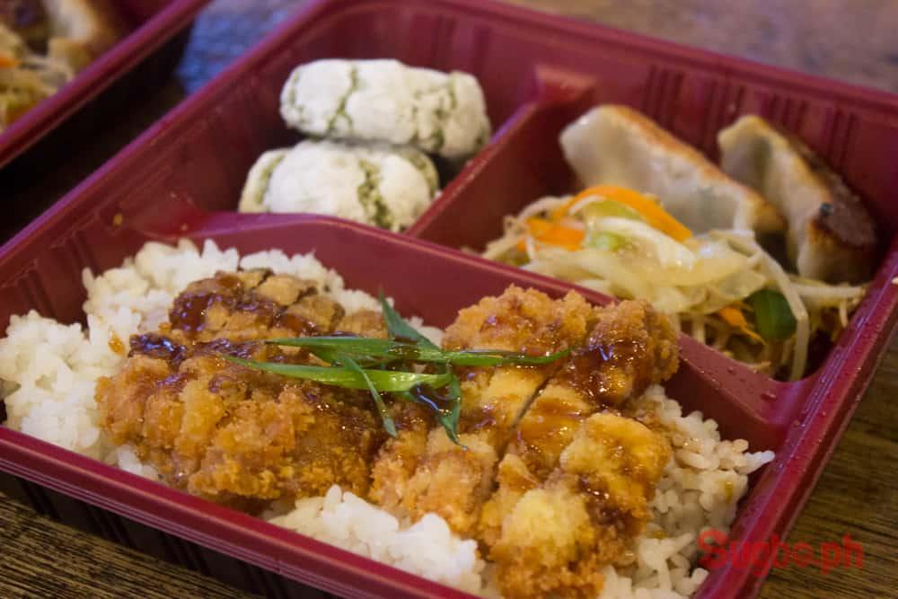 Bento Box - Tonkatsu (Pork)