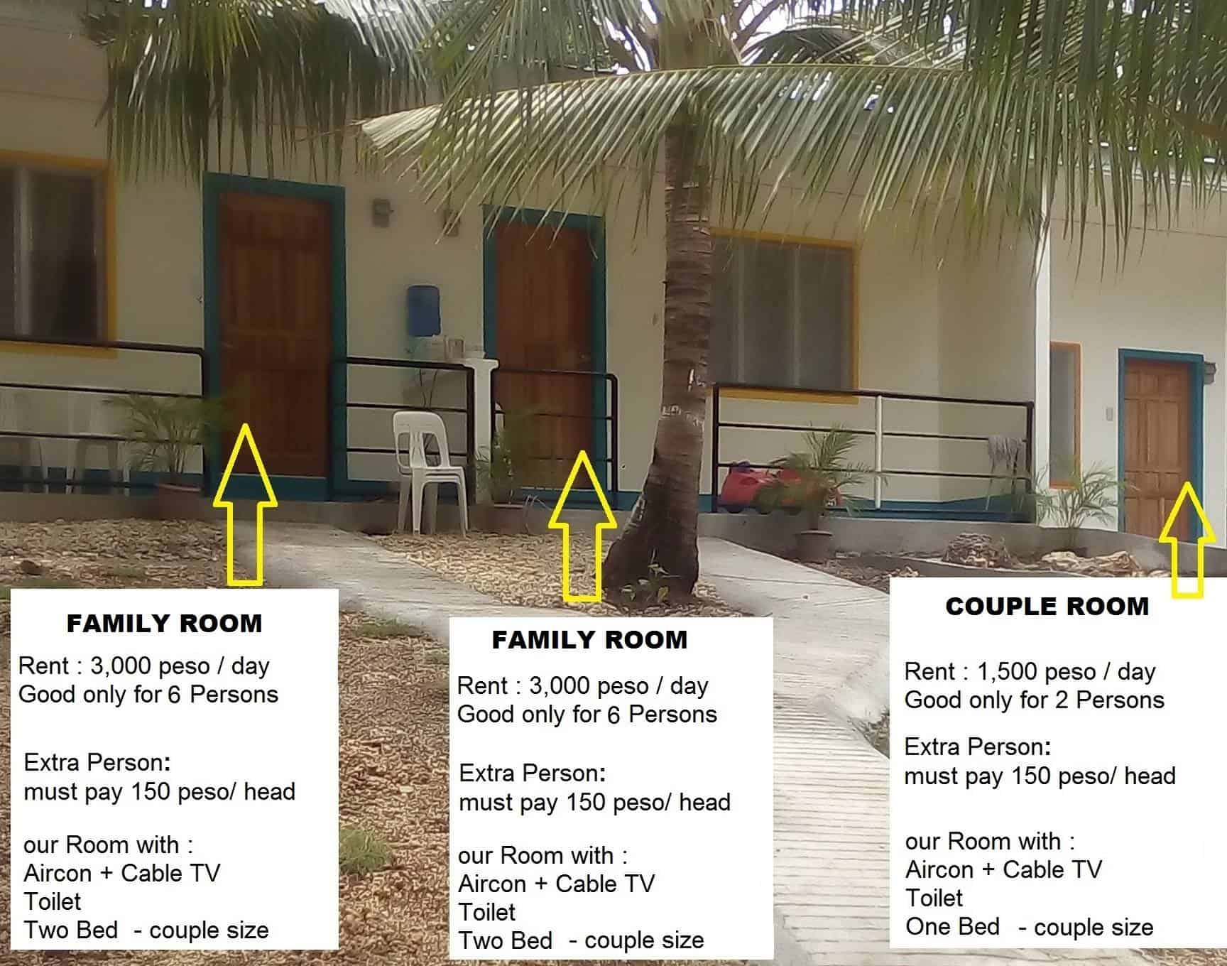 Emarre Beach Resort Room Rates