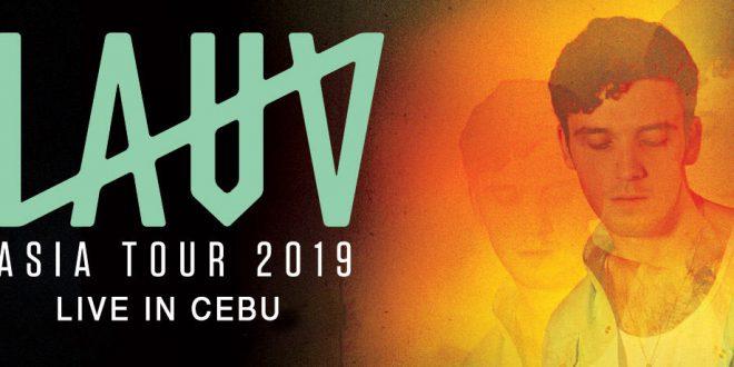 LAUV Cebu Concert Asian Tour 2019