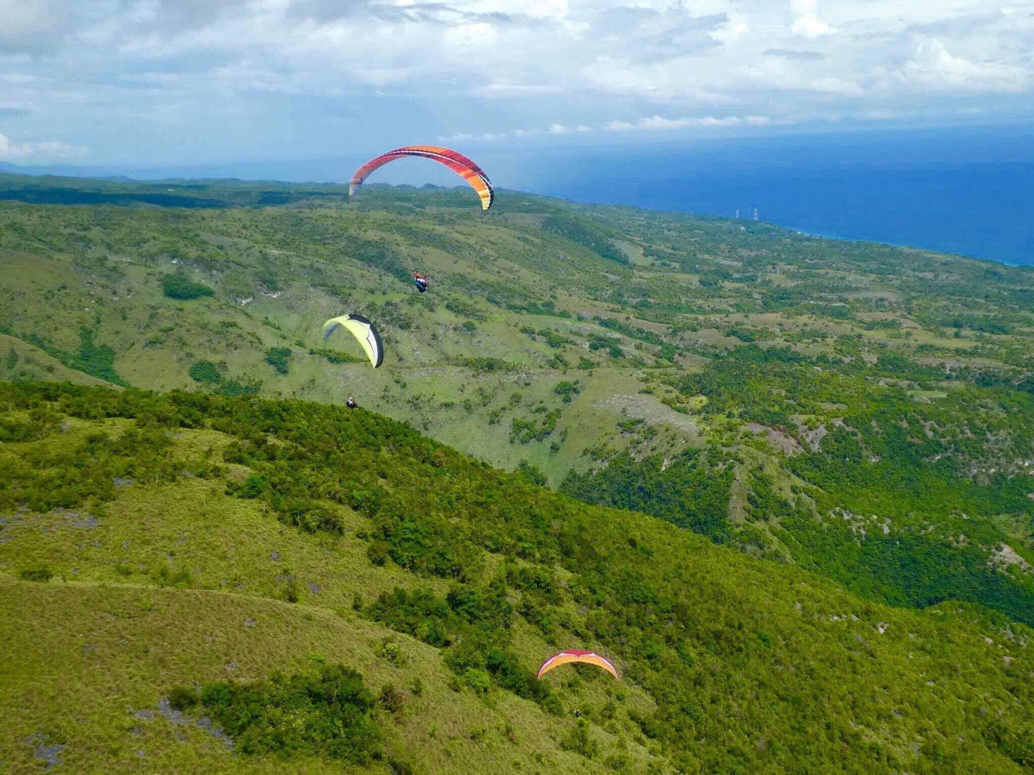 Paragliding in Cebu Oslob (2)