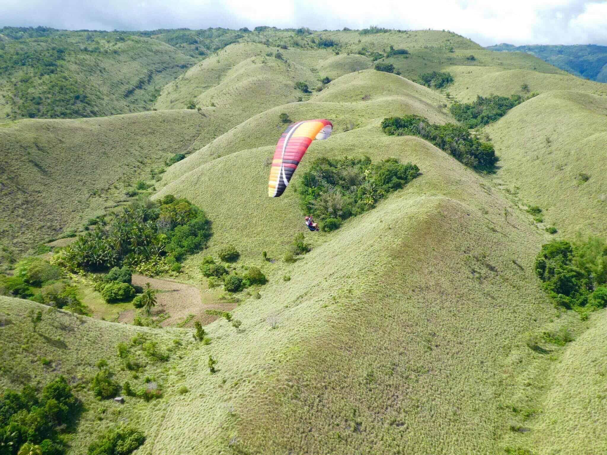 Paragliding in Cebu Oslob (3)