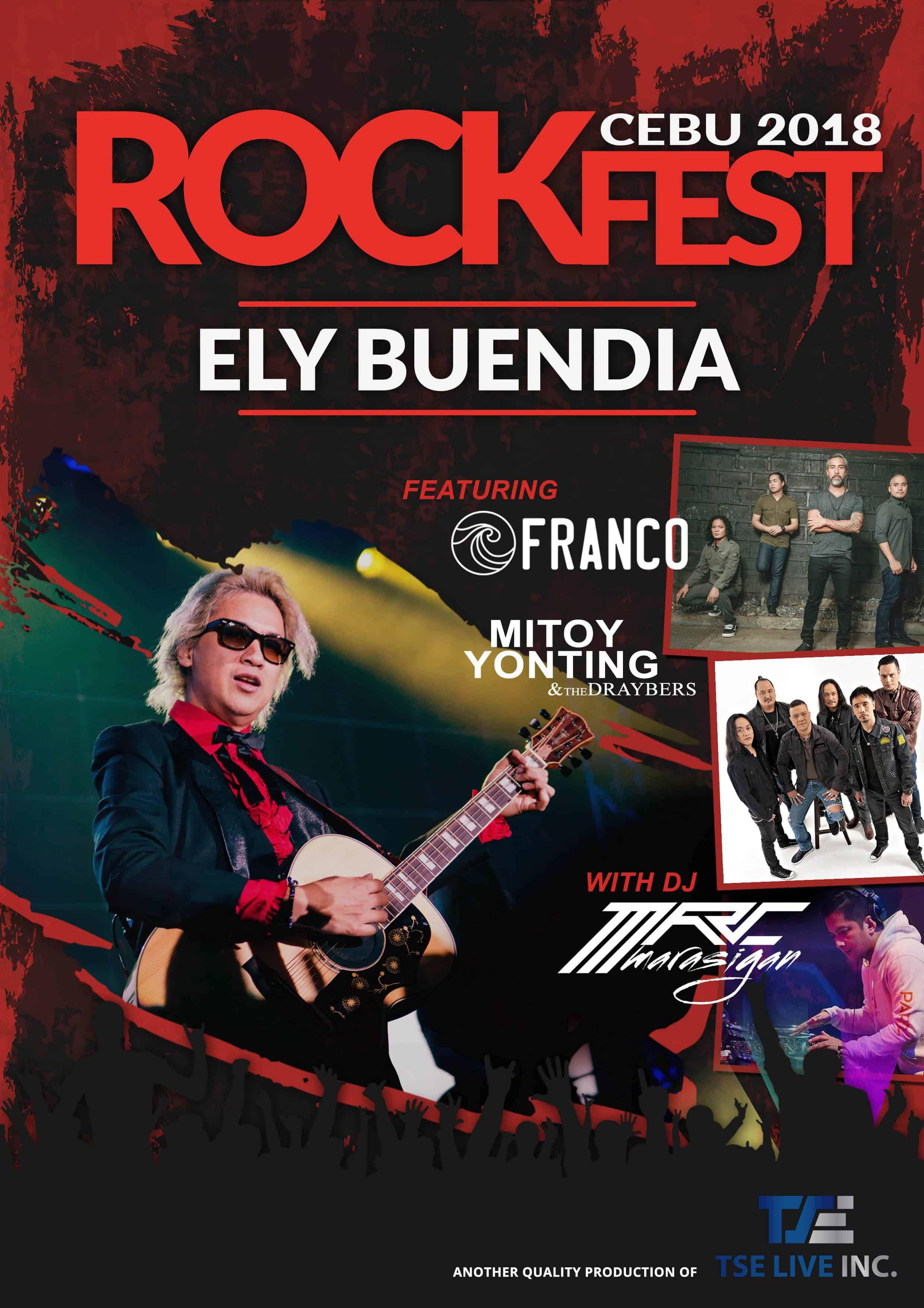 Rockfest 2018 Cebu Ely Buendia