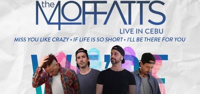 The Moffats Live in Cebu 2018