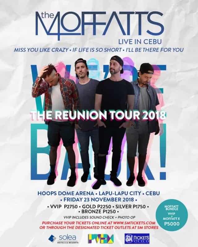 The Moffats Live in Cebu