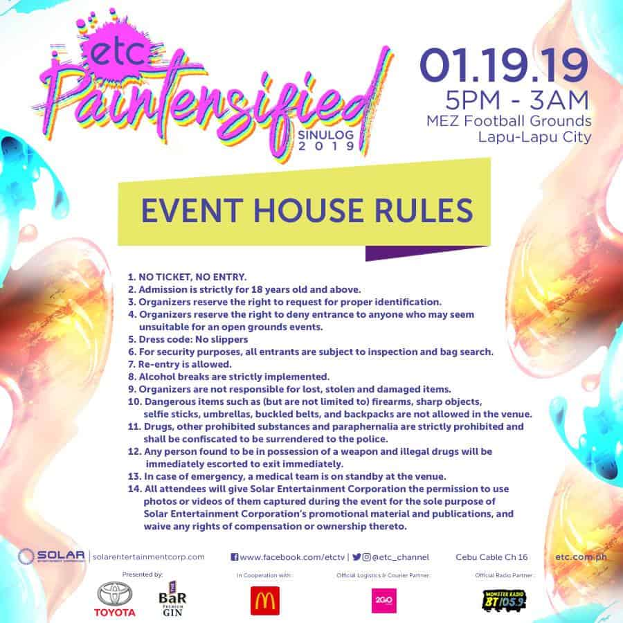Ultimate Guide to Cebu Sinulog Parties 2019 | Sugbo ph - Cebu
