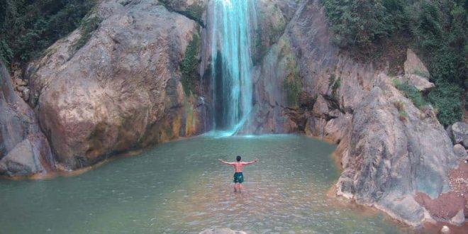 Budlaan Falls Cebu City (1)