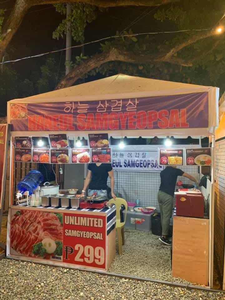 Mercato De Mactan Cebu - Samgyeopsal