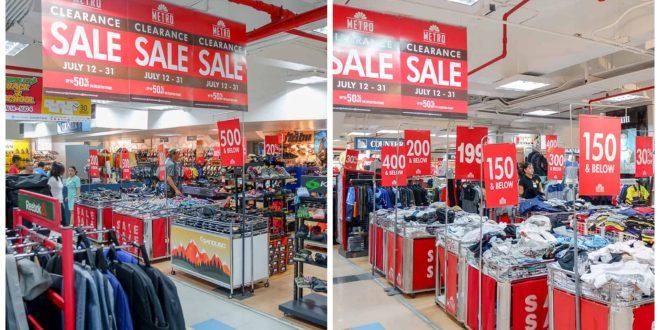 Metro Retail Mid-Year Clearance Sale Cebu