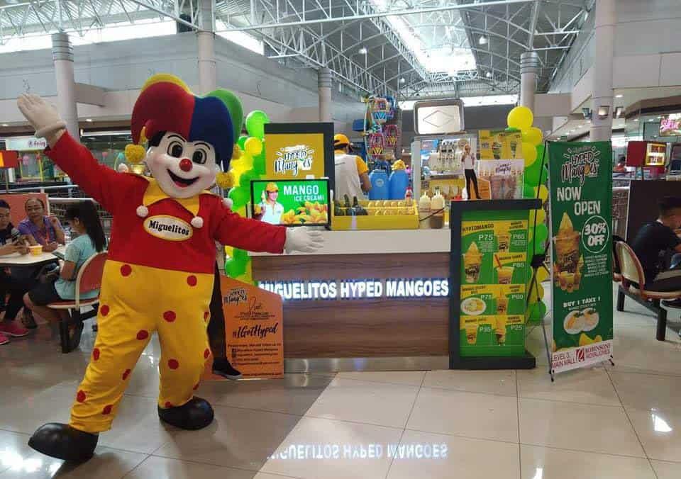 Miguelitos Hyped Mangoes Cebu