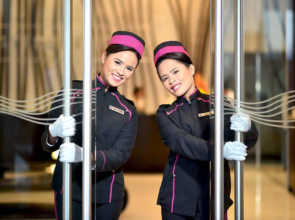 Bayfront Hotel Cebu - doorgirls1