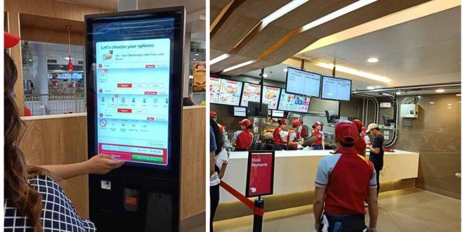Jollibee Ayala Cebu Self-Ordering Kiosk