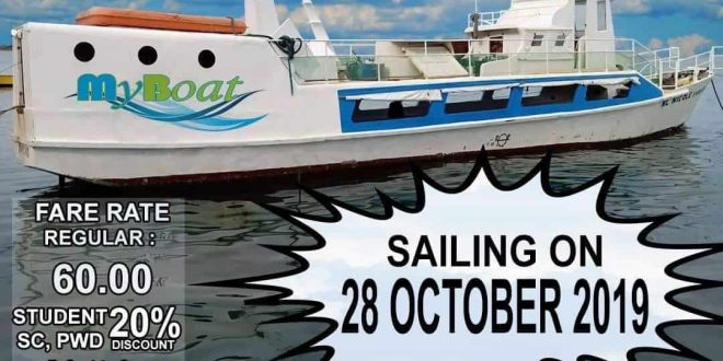myboat naga city to pier 1 official