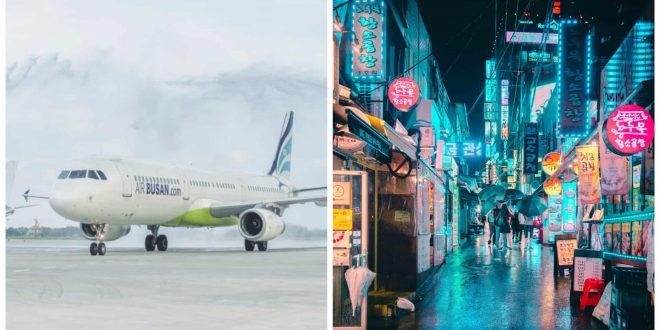 Air Busan Cebu to Incheon Seoul