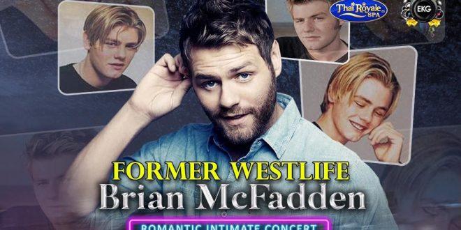 Brian McFadden Westlife Concert